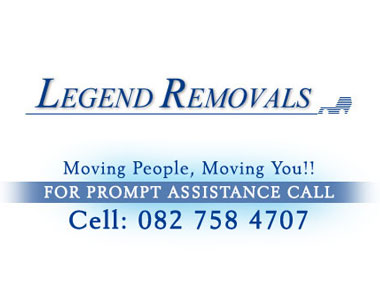 Legend Furniture Removals - Legend Furniture Removals is a family owned  furniture removals company based in Pretoria, specializing in household removals and long distance services .Our friendly staff are trained to provide you with a professional service and stress free.