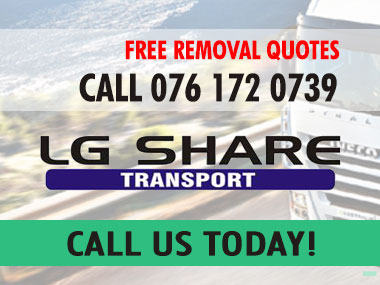 LG Share Transport - LG Shares first responsibility is to the client to provide the highest standards in logistics and transport services. Our vast experience in this field enables us to offer you a personalised service, be it for private, corporate removals or cargo delivery