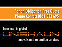 Unishaun Removals And Relocation Services - Unishaun Removals and Relocation Services is a South African company which offers comprehensive furniture removals, business and office relocations, storage and logistics services - both locally and internationally - to discerning customers.